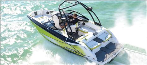 Scarab V8 Boat by Scarab Jet Boat 215 Ho Impulse Power Boating Canada