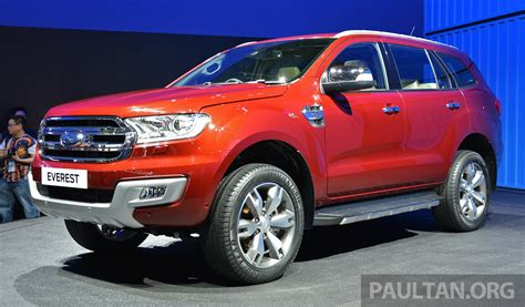 2018 Ford Everest Makes Asean Debut From Rm143k