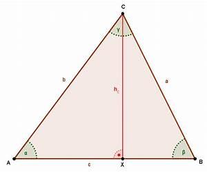 Trigonometrie Höhe Berechnen : trigonometrie berechnung an speziellen und allgemeinen dreiecken lernpfad ~ Themetempest.com Abrechnung