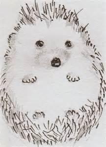 Cute Baby Hedgehog Drawings