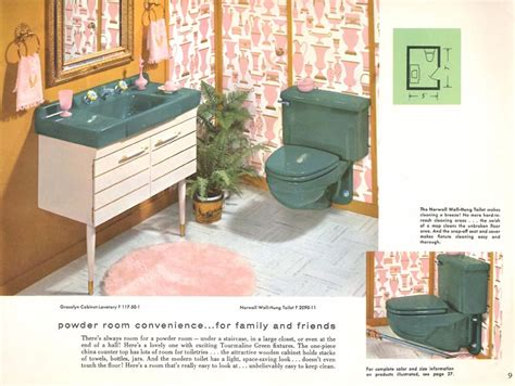 Colored Bathroom Fixtures by The Evolution Of Colored Bathroom Fixtures House