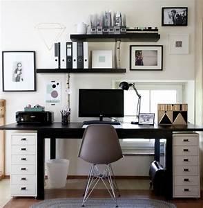 Büro Zuhause Einrichten : ideen zur einrichtung von b ro arbeitszimmer und home office mit freundlicher unterst tzung ~ Frokenaadalensverden.com Haus und Dekorationen