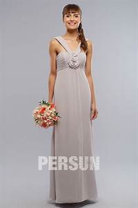 robe simple grise pastel col halter pour temoin mariage With robe couleur pastel pour mariage