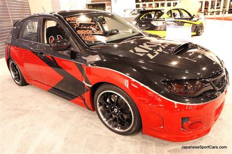 2011 subaru wrx modified custom 2011 subaru impreza wrx by kicker