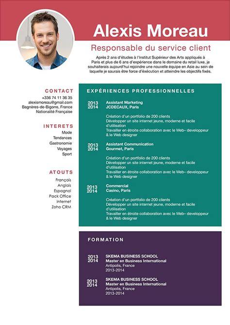 Des Cv Professionnel by Cv Professionnel Curriculum Vitae Pro 183 Mycvfactory