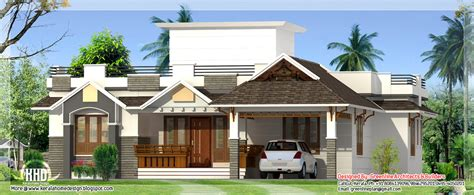 bedroom single storey house kerala home design floor plans