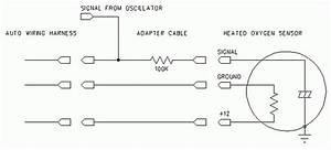 Oxygen Sensor Schematic