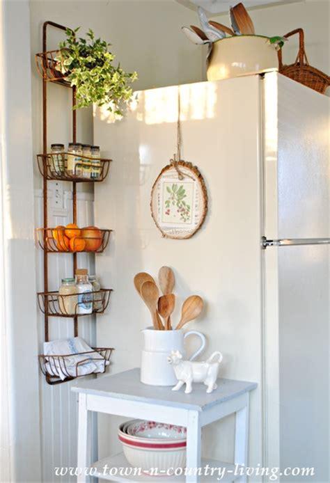 kitchen storage wall farmhouse style storage ideas town country living 3199