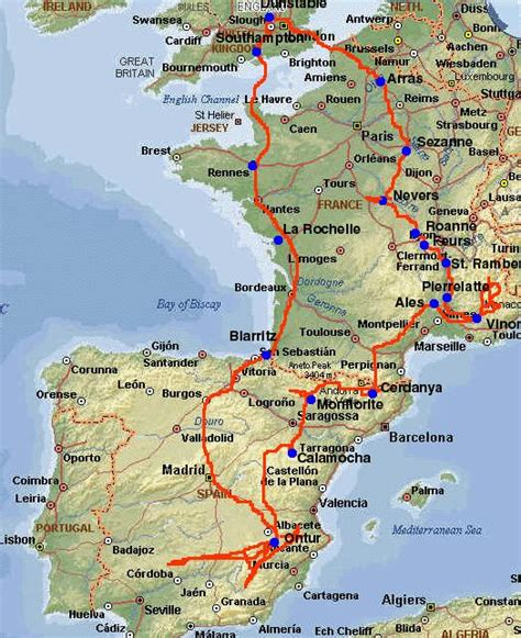 map  spain  france  mendem
