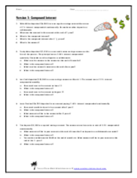 Consumer Math Worksheets For High School Consumer Best Free Printable Worksheets