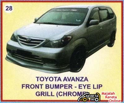 Avanza Engine Modification by Toyota Avanza Details Spec Modified Picture Bodykit Of