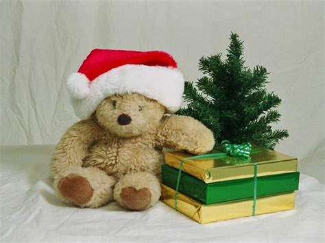 wallpapers christmas teddy bear wallpapers