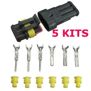 Kits Pin Set Way Sealed Waterproof Electrical Wire