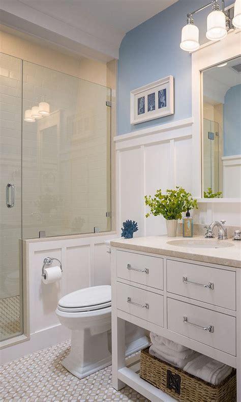 high wainscoting bathroom google search small master