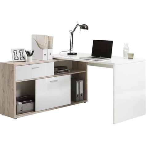 bureau avec angle bureau d 39 angle avec rangements elsa design sur sofactory