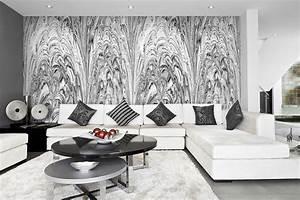 Wandbilder Grau Weiss : tapetenkollektion palazzo futuro ~ Sanjose-hotels-ca.com Haus und Dekorationen