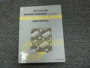 2009 Toyota Highlander Hybrid Electrical Wiring Diagram