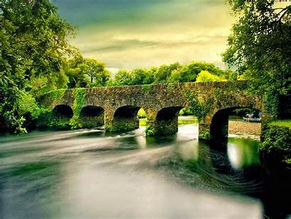 Nature Wallpapers River Scenic Ireland Desktop Bridge