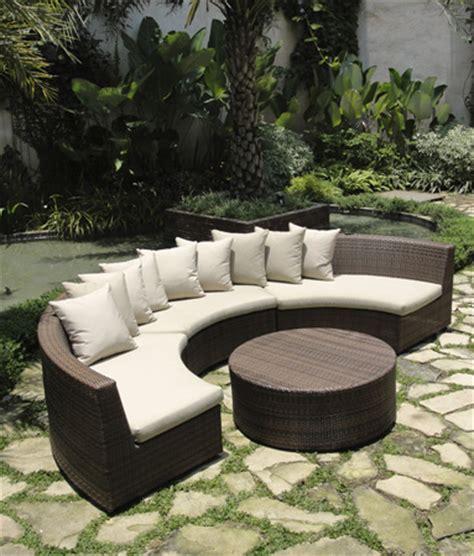 outdoor sofa 6 outdoor wicker seating