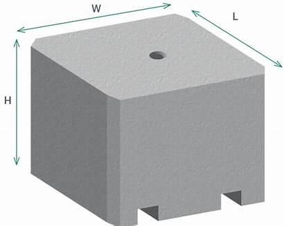 Security Blocks Concrete Precast Barriers Block Jersey