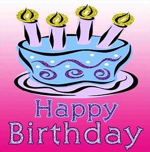 Moving animated Happy Birthday greeting images, Birthday