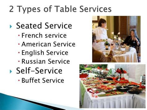 Table Services