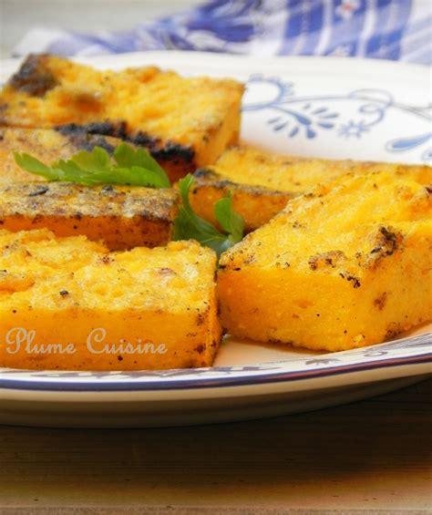 recette de cuisine avec des l馮umes recette polenta une plume dans la cuisine
