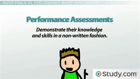 forms  assessment informal formal paper pencil