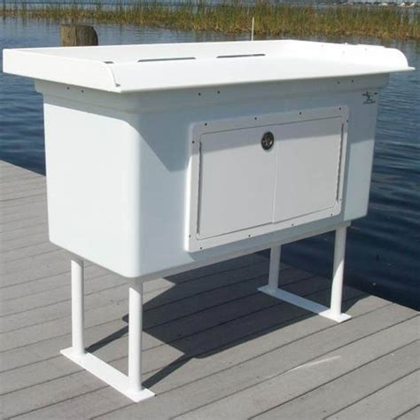 Fiberglass Boat Cabinets by Fish Cleaning Station With Fiberglass Cabinet Fillet Table