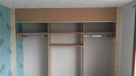 Wardrobe Shelving by Wardrobe With Shelving And Rails Handyman Services