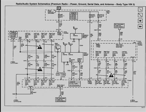 2003 gmc yukon bose radio wiring diagram free wiring diagram