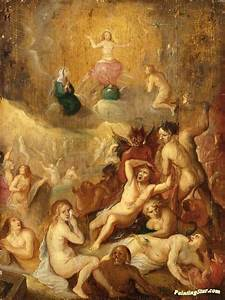 The Last Judgement Artwork By Frans Francken Ii Oil