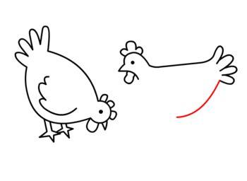 huehner zeichnen lernen schritt fuer schritt tutorial