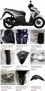 Daftar Harga Sparepart Honda Blade