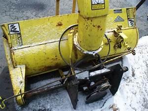 John Deere 49 Snow Blower For 318 332 322
