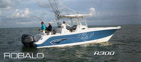 Robalo Boats Website by Robalo