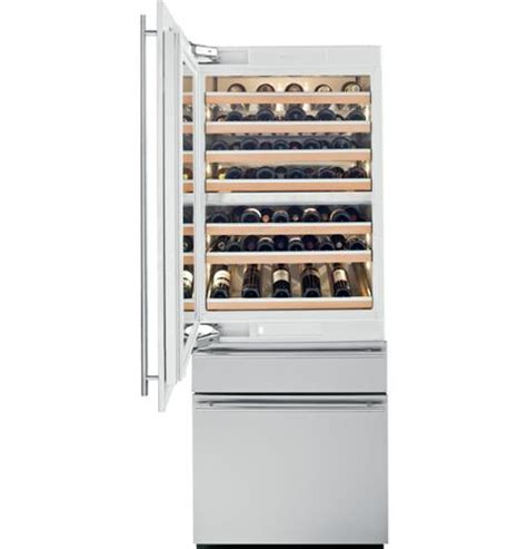 ziwgnzii monogram  fully integrated wine refrigerator monogram appliances