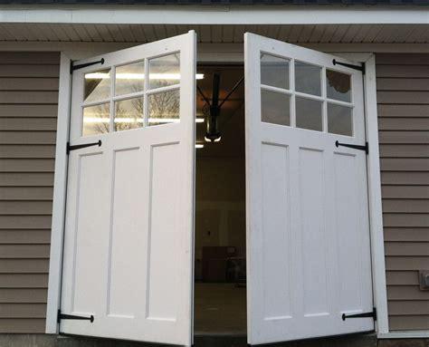swing out garage doors swing out carriage doors garage doors
