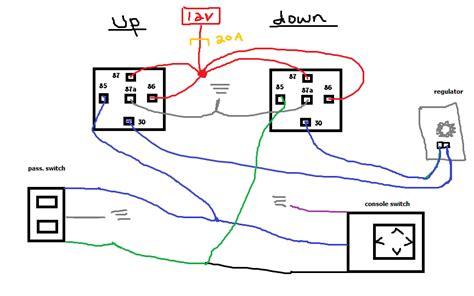 how to half manual half power window zilvia net