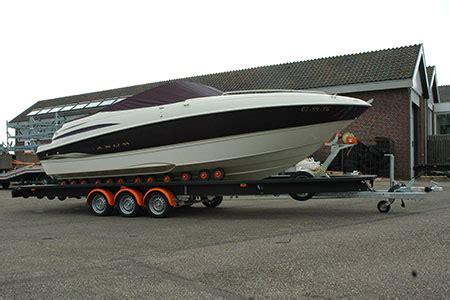 Custom Bootstrailer by Weihe Yachting Hafentrailer Hubtrailer Lagerb 246 Cke
