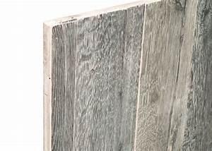 Panneau Bois Brut : panneau 3 plis bois us campagne vieilli gris brut 2 ~ Nature-et-papiers.com Idées de Décoration