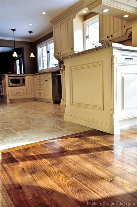 How To Tile A Kitchen Floor by Kitchen Idea Of The Day Perfectly Smooth Transition From
