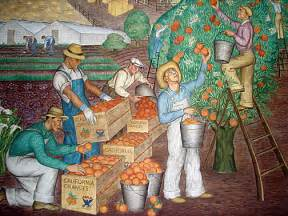 Coit Tower Murals Restoration by San Francisco In The 1930s Living New Deal