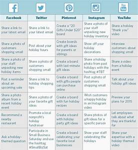 how to create a holiday social media calendar With facebook posting schedule template