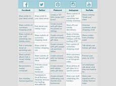 How to Create a Holiday Social Media Calendar