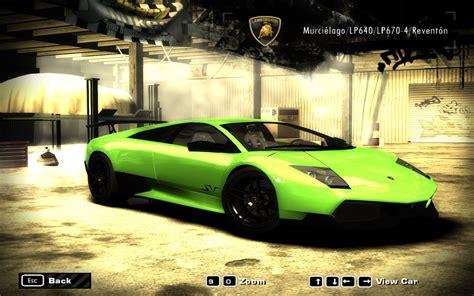 speed  wanted cars  lamborghini page
