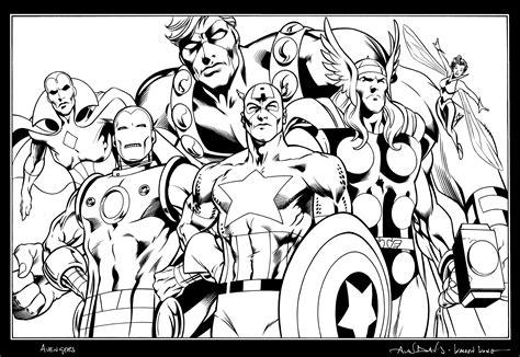dessins de coloriage avengers  imprimer sur laguerchecom page