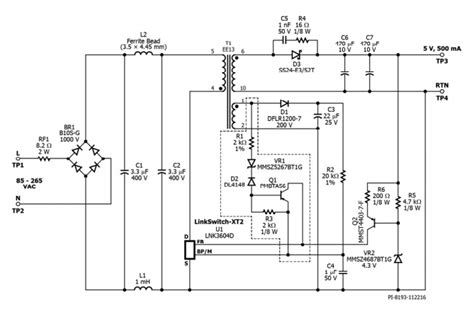 Non Isolated Flyback Converter Eeweb Power