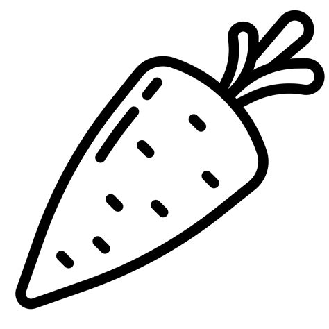 clipart black and white carrot clip black and white images