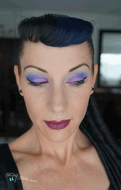 Makeup Looks Eye Pink Purple Pretty Hair